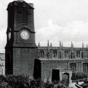 St Mary's Church old photograph